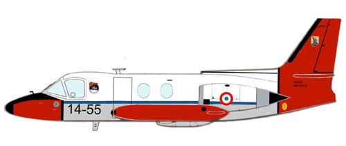 Profil couleur du Piaggio PD.808