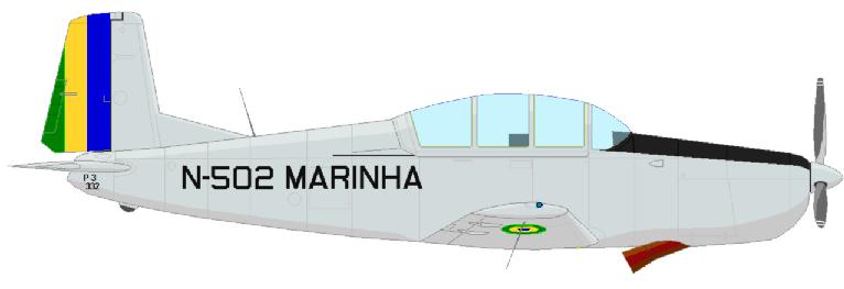 Profil couleur du Pilatus P-3