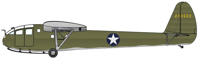 Profil couleur du Waco CG-3