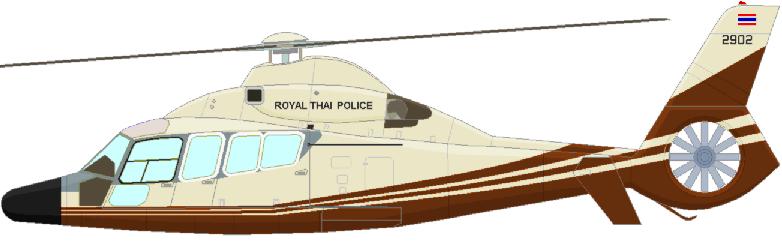 Profil couleur du Eurocopter EC-155