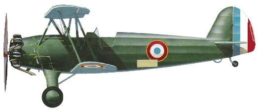 Profil couleur du Focke-Wulf Fw 44 Stieglitz