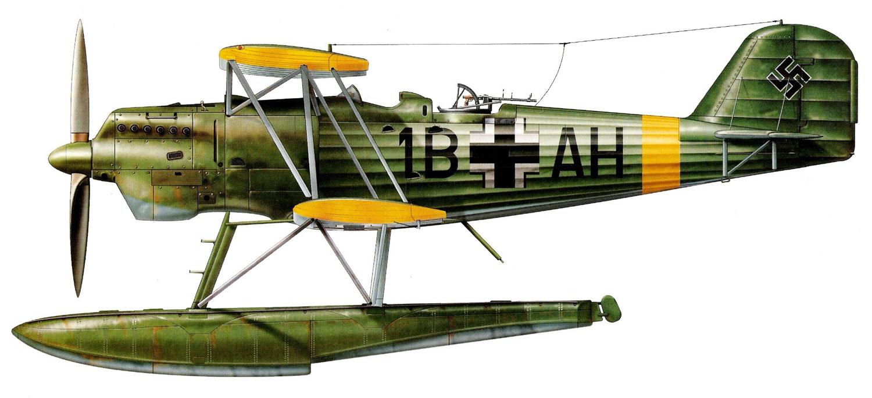 Profil couleur du Heinkel He 60