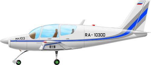 Profil couleur du Ilyushin Il-103