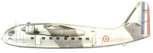 Profil couleur du Breguet Br.890 Mercure et Br.891 Mars