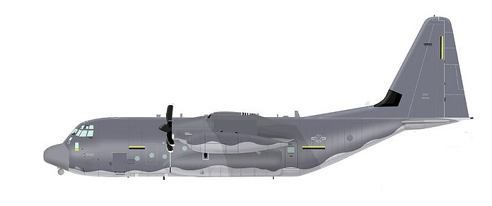 Profil couleur du Lockheed MC-130 Combat Talon