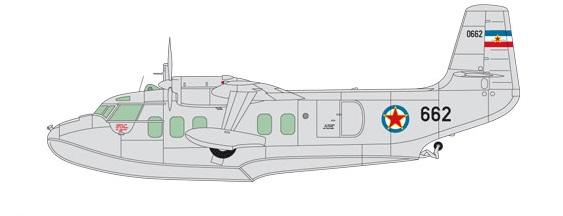Profil couleur du Short SA.6 Sealand