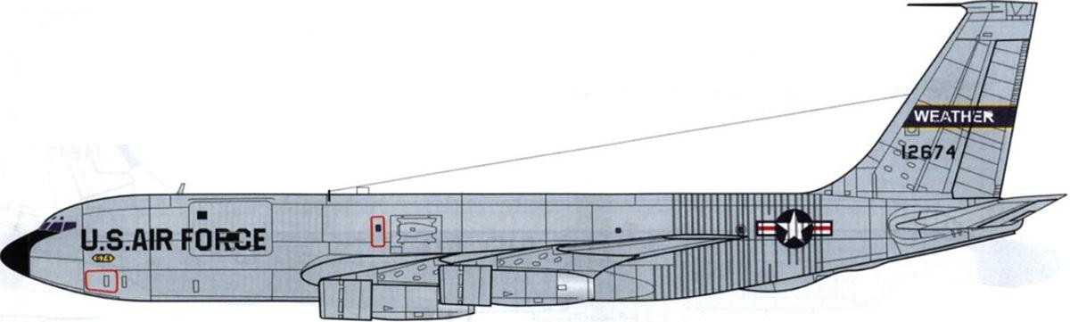Profil couleur du Boeing WC-135 Constant Phoenix