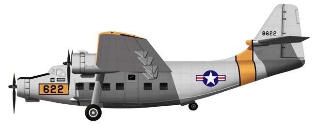 Profil couleur du Northrop YC-125 Raider
