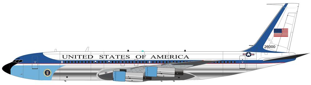Profil couleur du Boeing C-137 Stratoliner