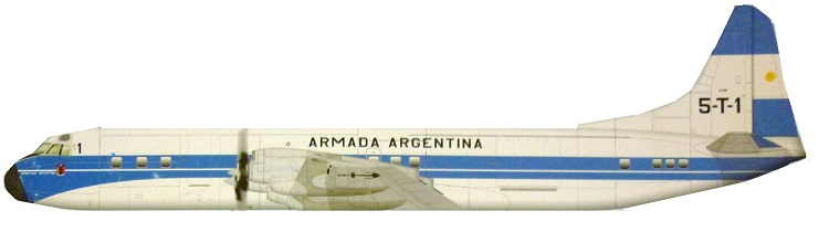 Profil couleur du Lockheed L-188 Electra
