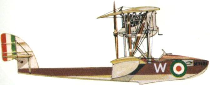 Profil couleur du Macchi M.5
