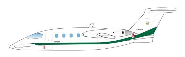 Profil couleur du Piaggio P.180 Avanti