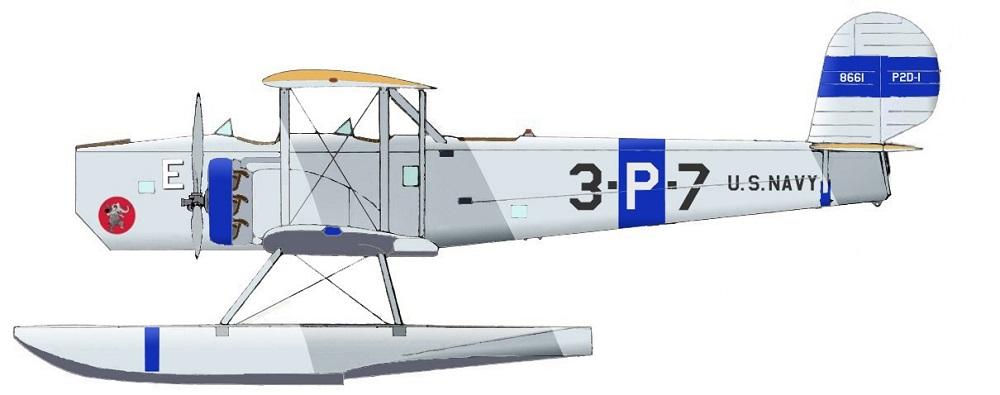 Profil couleur du Douglas P2D