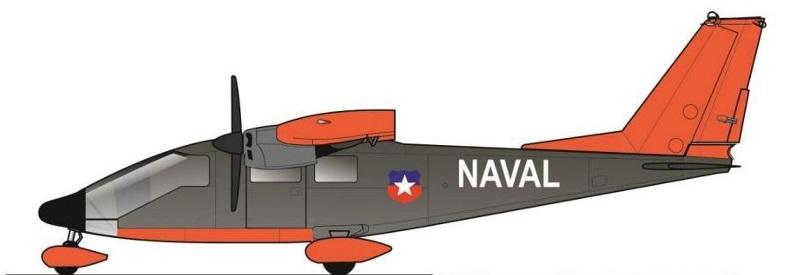 Profil couleur du Partenavia P.68 Victor