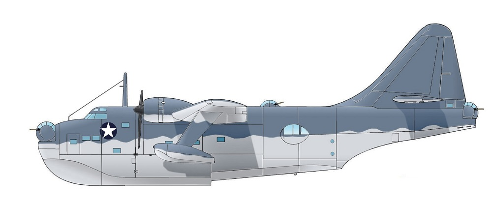 Profil couleur du Boeing PBB Sea Ranger