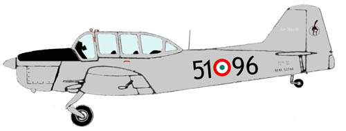 Profil couleur du Fokker S-11 Instructor
