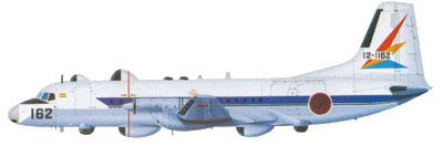 Profil couleur du NAMC YS-11