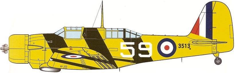 Profil couleur du Northrop A-17 Nomad