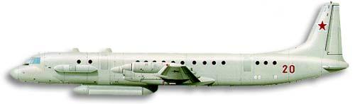 Profil couleur du Ilyushin Il-20 'Coot-A' / Il-22 'Coot-B'
