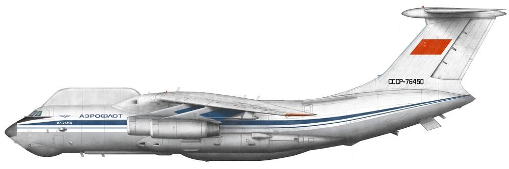 Profil couleur du Ilyushin Il-82 'Mongrel'