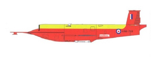 Profil couleur du GAF Jindivik