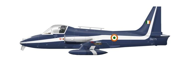Profil couleur du HAL HJT-16 Kiran