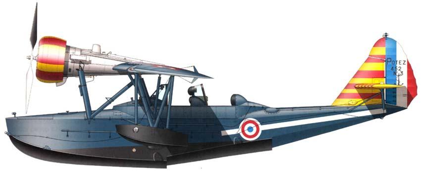Profil couleur du Potez 452