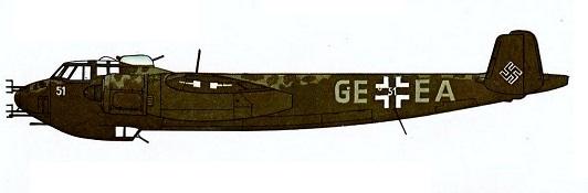 Profil couleur du Dornier Do 215