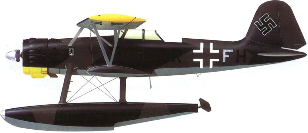 Profil couleur du Heinkel He 114