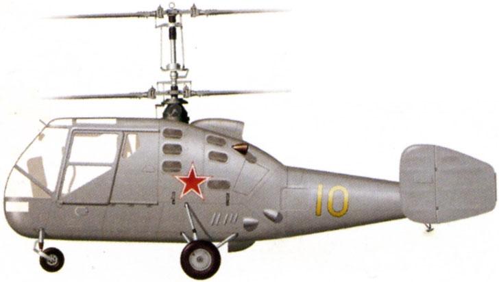 Profil couleur du Kamov Ka-15 'Hen'