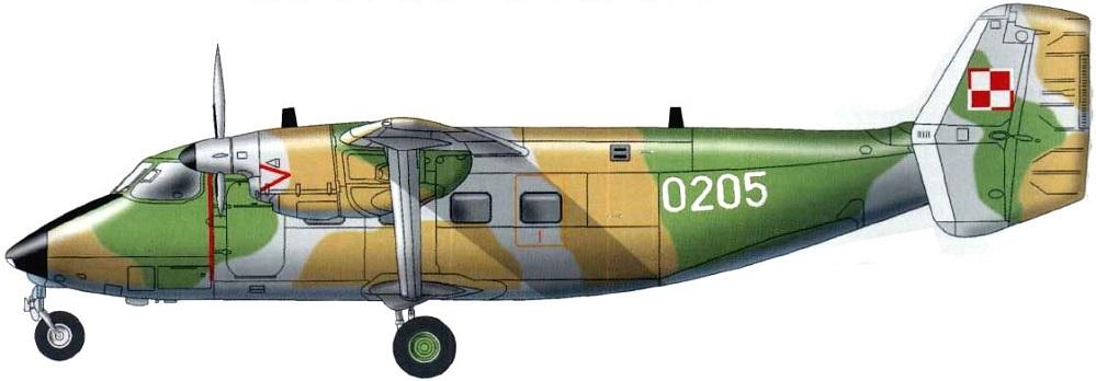 Profil couleur du PZL M-28 Skytruck