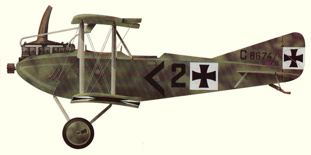 Profil couleur du AEG C.IV