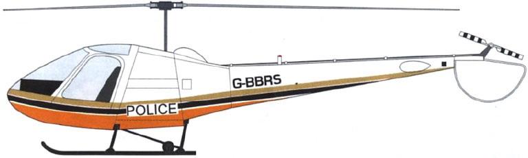 Profil couleur du Enstrom F28 Falcon / F280 Shark