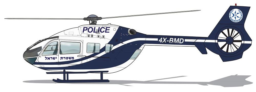 Profil couleur du Airbus Helicopters H145M