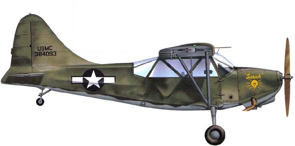 Profil couleur du Stinson L-5 Sentinel