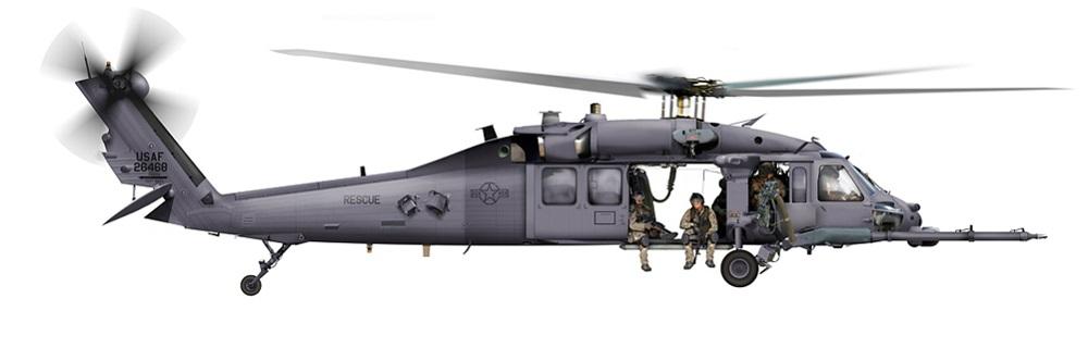 Profil couleur du Sikorsky HH-60 Pavehawk
