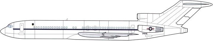 Profil couleur du Boeing C-22