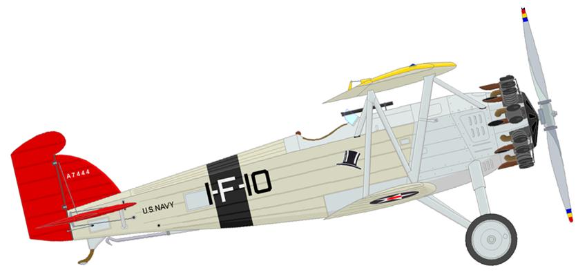 Profil couleur du Boeing F2B