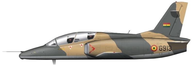 Profil couleur du Hongdu JL-8