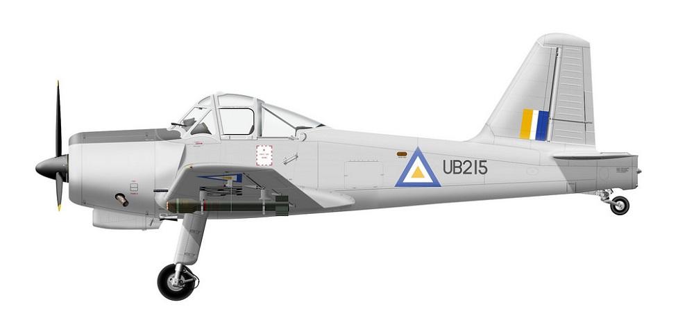Profil couleur du Percival P-56 Provost