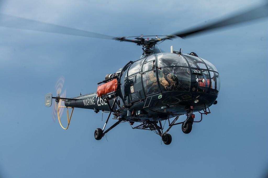 L'actu de la MARINE NATIONALE, de notre défense et de nos alliés /3 Alouette-III-appontage_MN