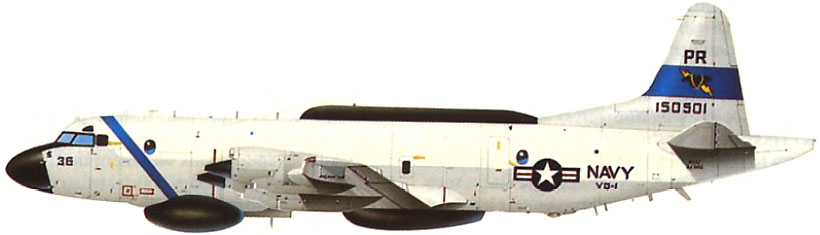 Profil couleur du Lockheed EP-3 Aries