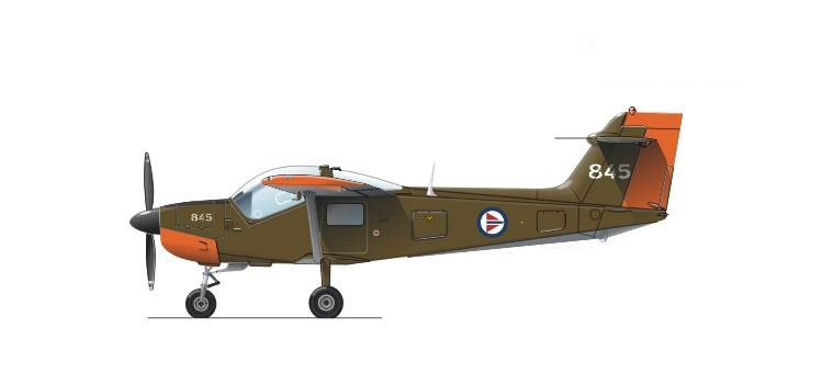 Profil couleur du Saab MFI-15 Safari / MFI-17 Supporter