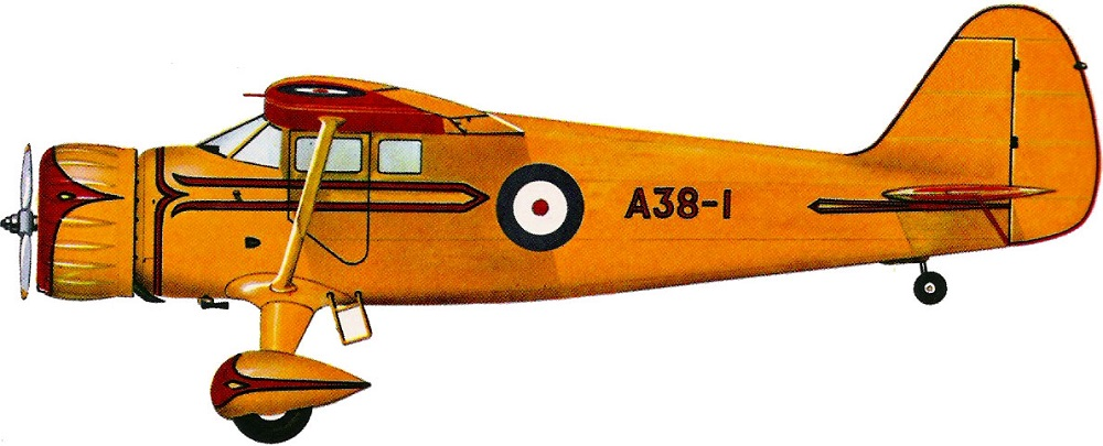 Profil couleur du Stinson AT-19 / UC-81 Reliant