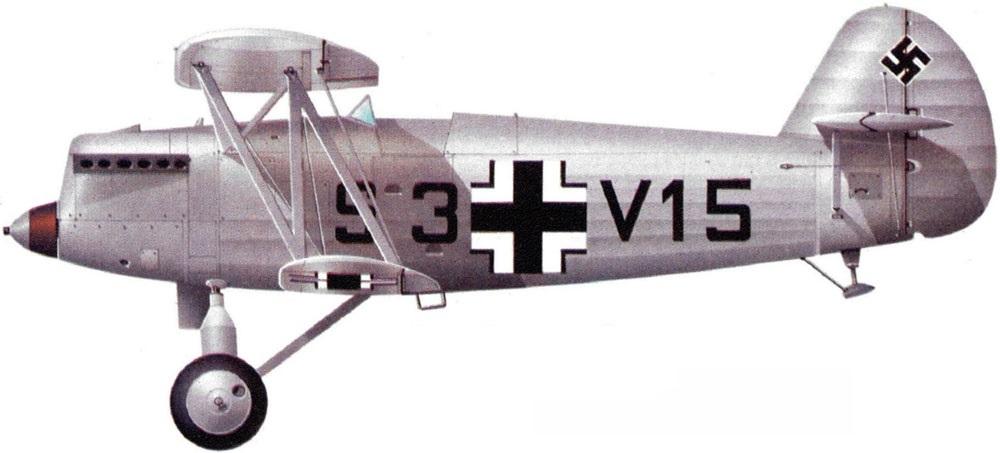 Profil couleur du Arado Ar 65
