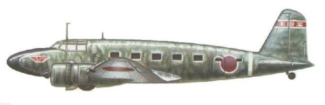 Profil couleur du Mitsubishi Ki-57 'Topsy'