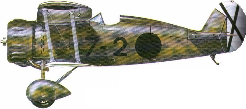 Profil couleur du Meridionali Ro.41