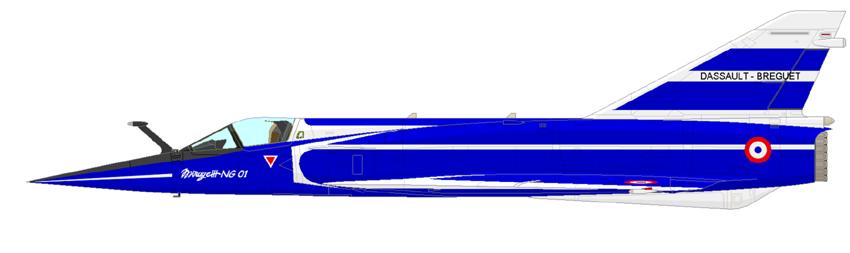 Profil couleur du Dassault-Breguet Mirage 3 NG