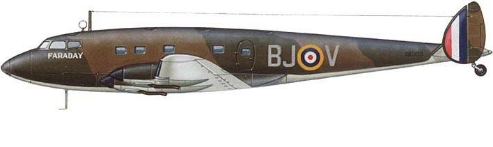 Profil couleur du De Havilland D.H.91 Albatross