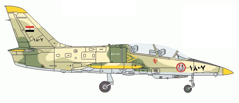 Profil couleur du Aero L-59 Super Albatros